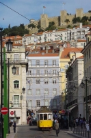 Foto van Typical Lisbon street - Portugal
