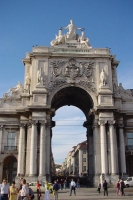 Picture of Augustus Gate in Lisbon - Portugal