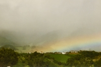 Foto van Rainbow on the Azores - Portugal