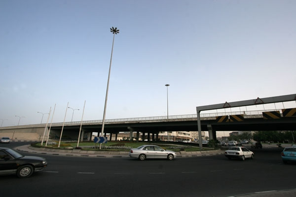 Send picture of Road in Doha from Qatar as a free postcard