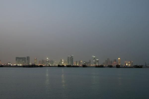 Enviar foto de View over Doha de Qatar como tarjeta postal eletrónica