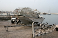 Foto van Fishing boat in Doha - Qatar