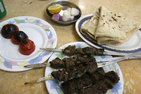 Send picture of Kebab in Qatar from Qatar as a free postcard