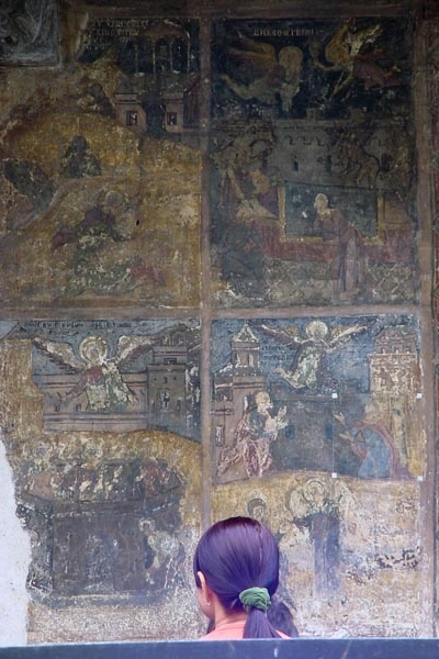 Frescoes of the Stavropoleos church