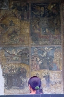 Photo de Frescoes of the Stavropoleos church - Romania