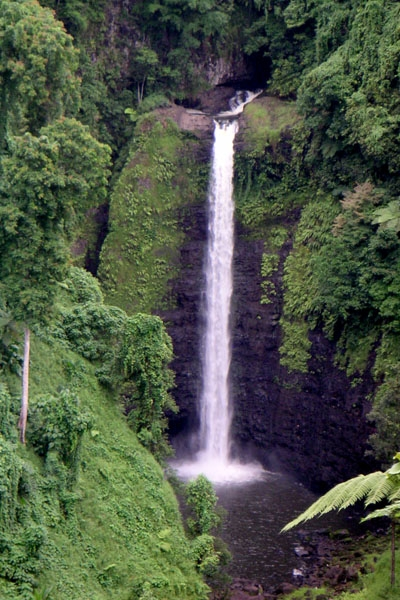 Send picture of Waterfall in Samoa from Samoa as a free postcard