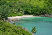 Foto di Beach at Anse major on Mahe Island - Seychelles