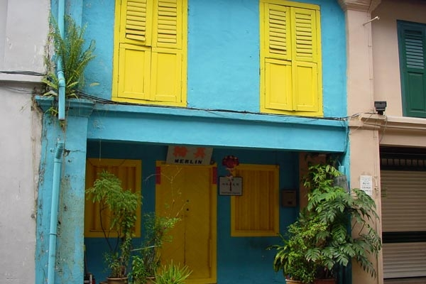 Send picture of House in old Singapore from Singapore as a free postcard