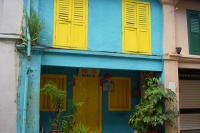 Foto van House in old Singapore - Singapore