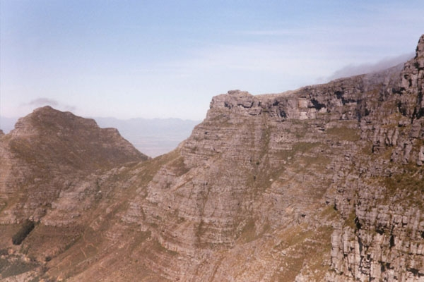 Enviar foto de View from the top of Table Mountain de Africa del Sur como tarjeta postal eletrónica