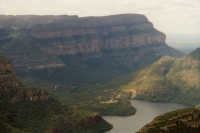 Picture of Drakensberg landscape - South Africa