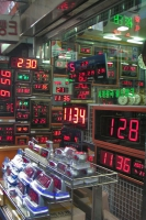 Foto van Clock shop in Seoul - South Korea