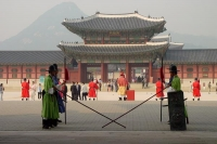 Foto van Gyeongbokgung Palace in Seoul - South Korea