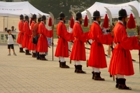 Picture of Guards at Gyeongbokgung Palace - South Korea