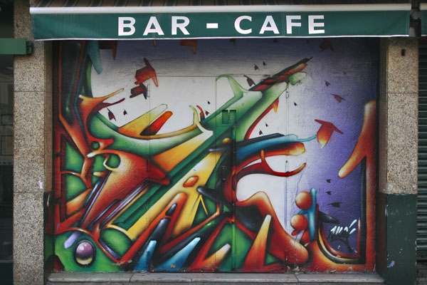 Send picture of Bar/Café in Madrid from Spain as a free postcard