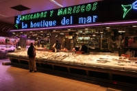 Foto van Spanish fish shop - Spain