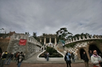 Photo de Park Güell in Barcelona - Spain