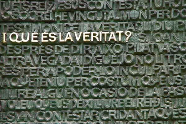 Send picture of Sentence written by the Portico de la Pasión of the Sagrada Familia from Spain as a free postcard