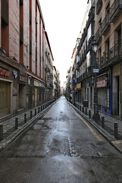 Envoyer photo de Street in Madrid de l'Espagne comme carte postale &eacute;lectronique