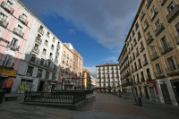 Foto van Apartment buildings in Madrid - Spain