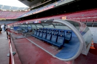 Foto di VIP box at Camp Nou stadium - Spain