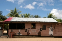 Picture of Restaurant in Galibi - Surinam