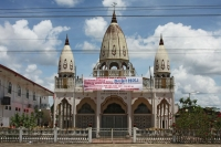 Picture of Hindu temple in Lelydorp - Surinam