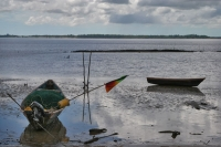 Foto di Fishing boats in Galibi - Surinam