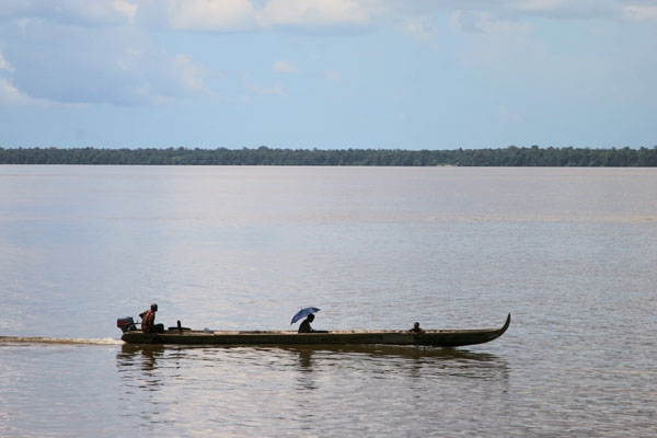 Boat in Surinam