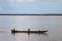 Photo de Boat in Surinam - Surinam