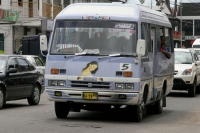 Photo de A Paramaribo bus - Surinam