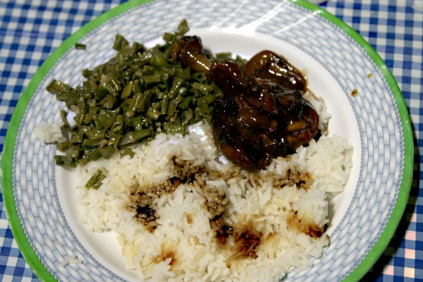 Send picture of Typical Surinamese food from Surinam as a free postcard