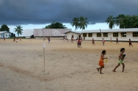 Photo de Football field in Galibi - Surinam