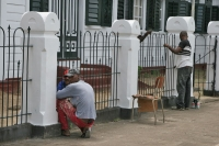 Picture of Painters in Paramaribo - Surinam