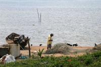 Photo de Fisherman in Galibi - Surinam