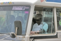 Picture of Bus driver in Paramaribo - Surinam