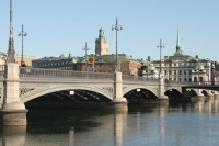 Foto van Stockholm bridge - Sweden
