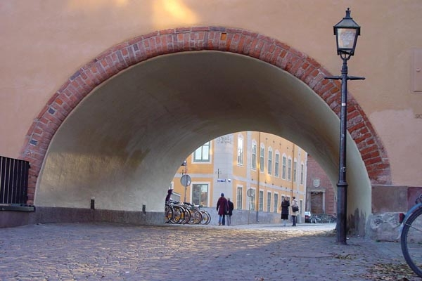 Send picture of Thoroughfare in Stockholm from Sweden as a free postcard