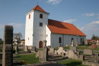 Foto di Church and cemetery of Styrsö in Gothenburg archipelago - Sweden