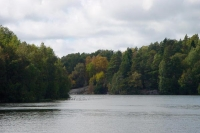 Photo de Lake and trees in Delsjn, near Gothenburg - Sweden