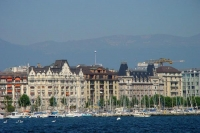 Foto van View over Geneva - Switzerland