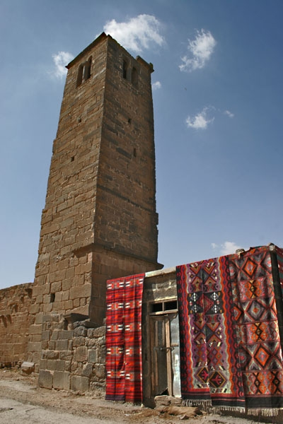Send picture of Carpet shop in Bosra from Syria as a free postcard