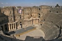 Photo de Bosra Amphitheatre - Syria