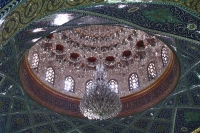 Foto van Ceiling of Omayyad mosque in Damascus - Syria