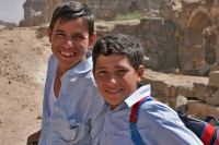 Foto van Boys from Bosra - Syria