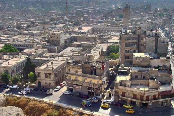  View over Aleppo
