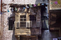 Foto van Close-up of a house in Damascus - Syria