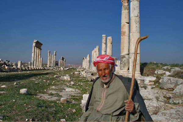 Send picture of Shepherd at Apamea from Syria as a free postcard