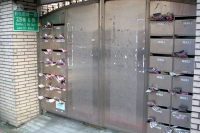 Foto di Mailboxes in a Taipei apartment building - Taiwan