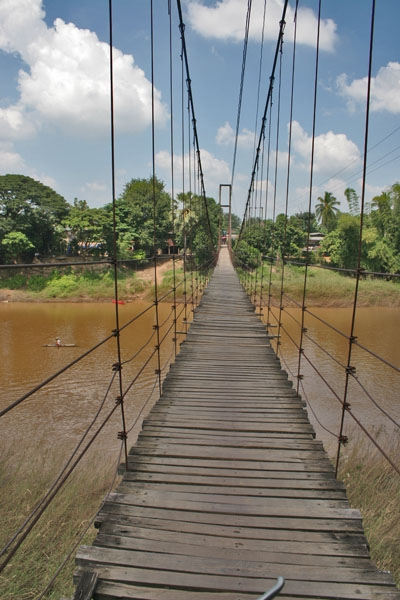 Send picture of Bridge in northern Thailand from Thailand as a free postcard